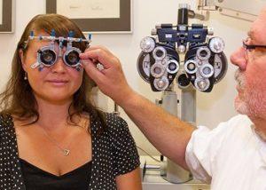 Erfahrung des Augenoptikers