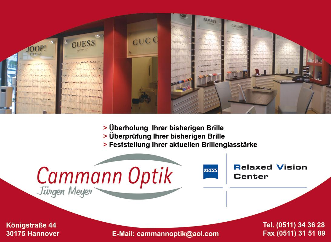 Cammann Optik Kontaktdaten