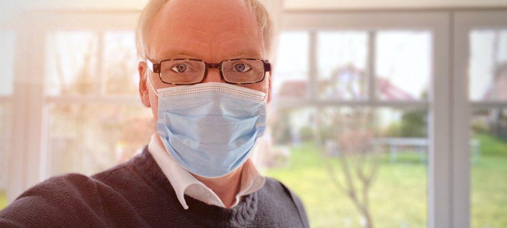 Schutzmaske Brille Beschlagen